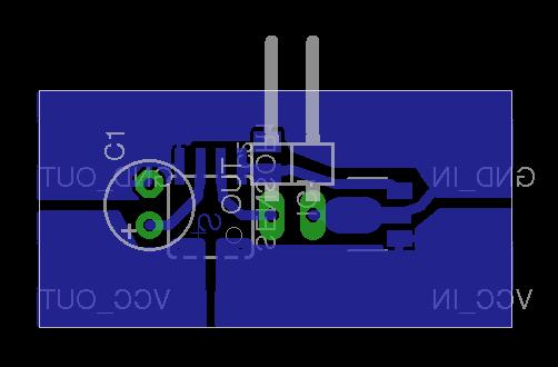 Current sensor 30A - PCB