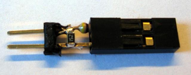 Voltage divider inside