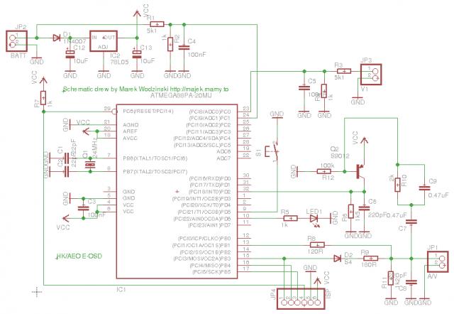 E-OSD - schematic diagram
