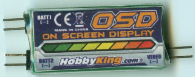 E-OSD - bottom side (shrinkwrapped)