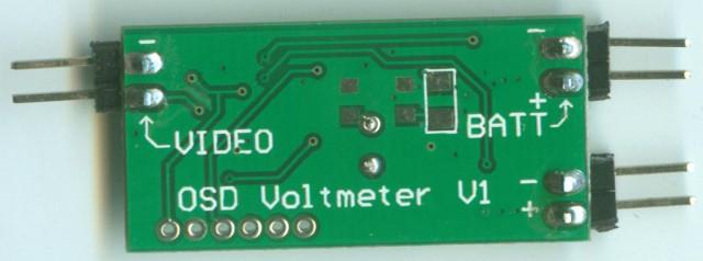 E-OSD - bottom side (unwrapped)