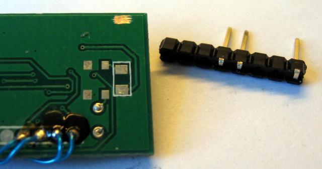 G-OSD - new input - preparing new pinheader