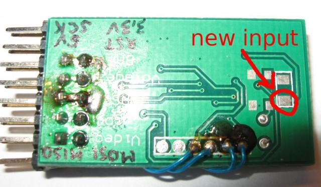 G-OSD - new input pad