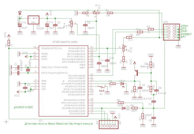 G-OSD schematic diagram