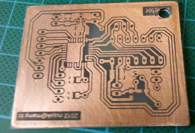 Frequency meter - PCB almost ready