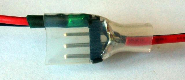 Power splitter - just solder wires to pinheader :-)