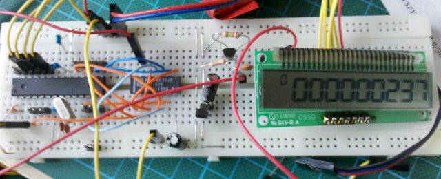 Frequency meter - prototype