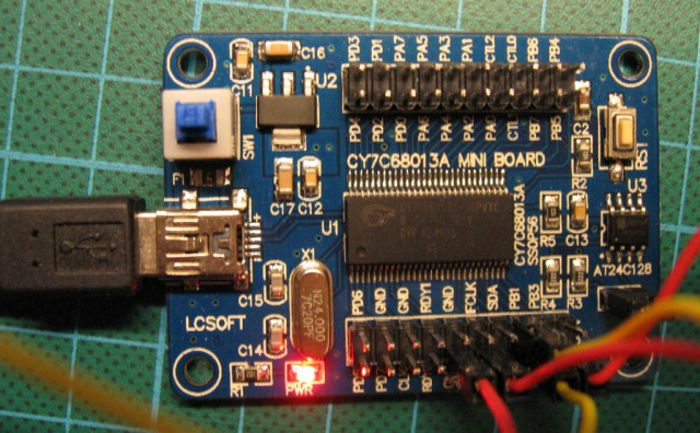 LCSoft Cypress prototyping board