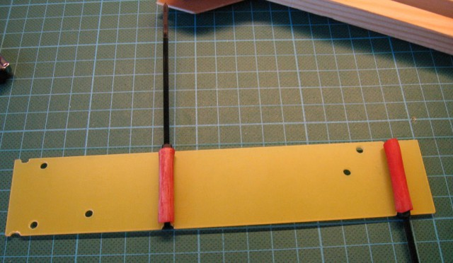 Tricopter - mounting bottom plate