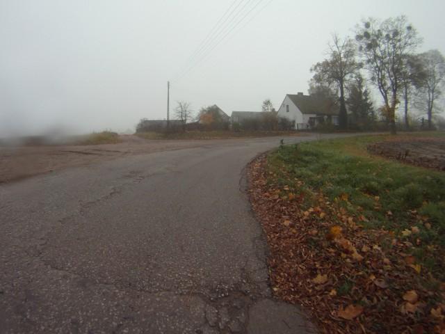 H46 - Wielki Wełcz, koniec asfaltu